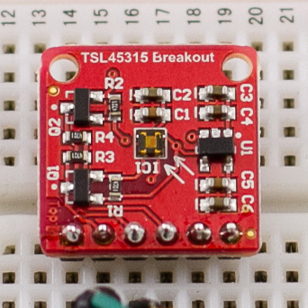 Digitaler Lichtsensor TSL45315 über I²C am Arduino