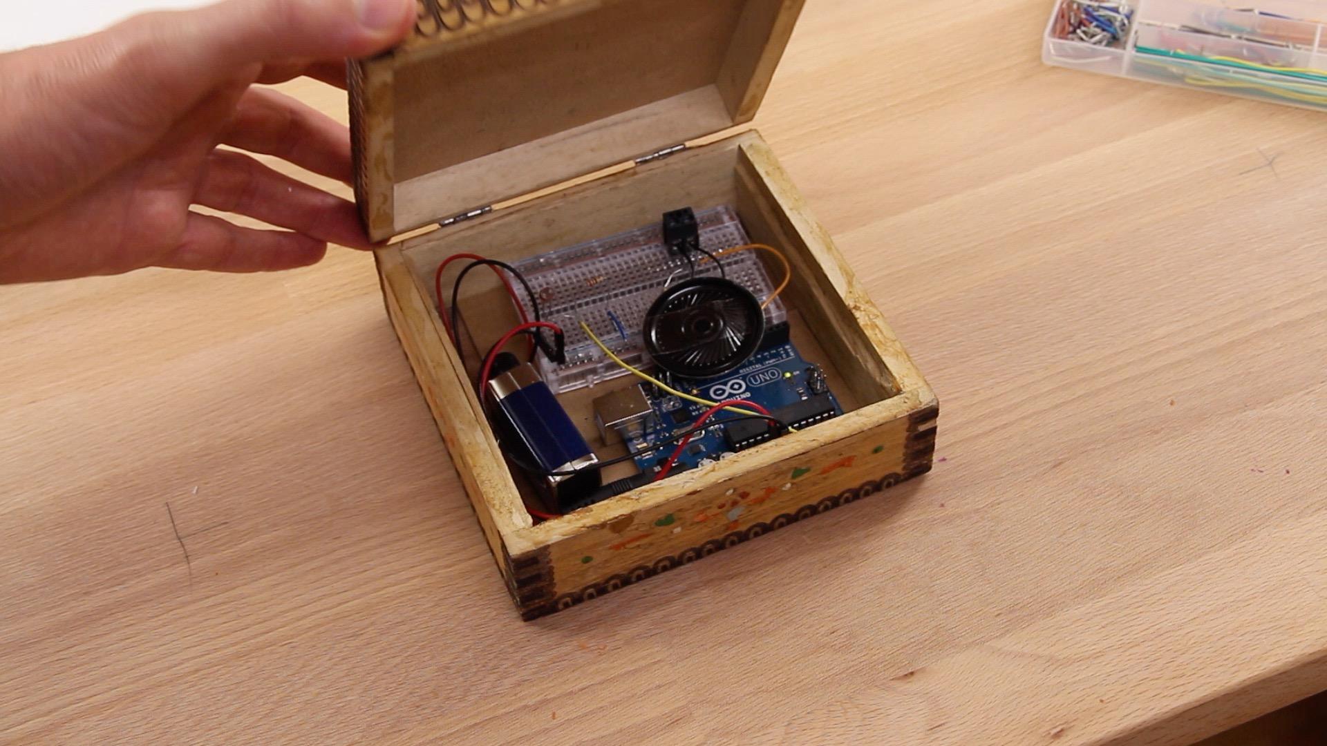 Arduino Projekt Musik Box