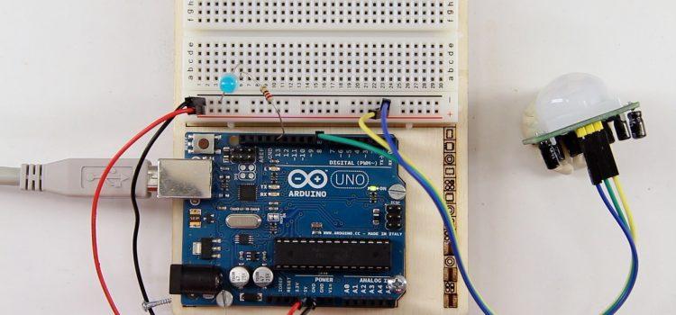 PIR Sensor / Bewegungsmelder am Arduino