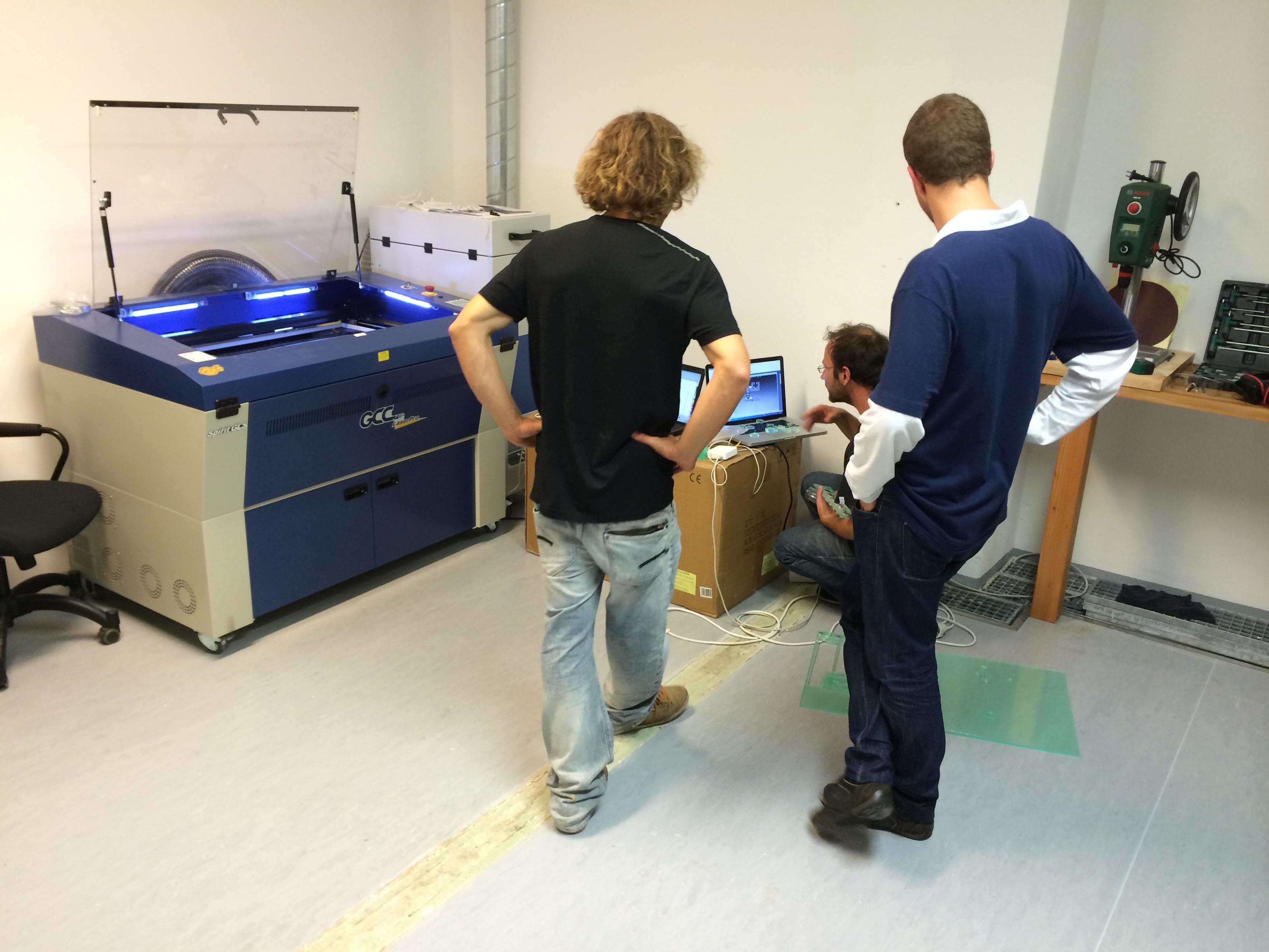 Happylab Salzburg – erste Bilder vom Lab!