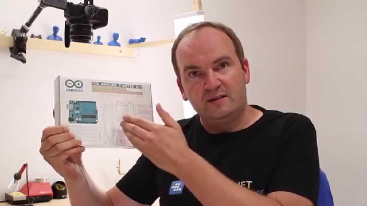Arduino Starter Kit – Ausgepackt und vorgestellt