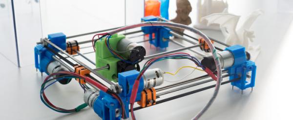 RAPPY – Der 3D Drucker mit Gleichstrommotoren