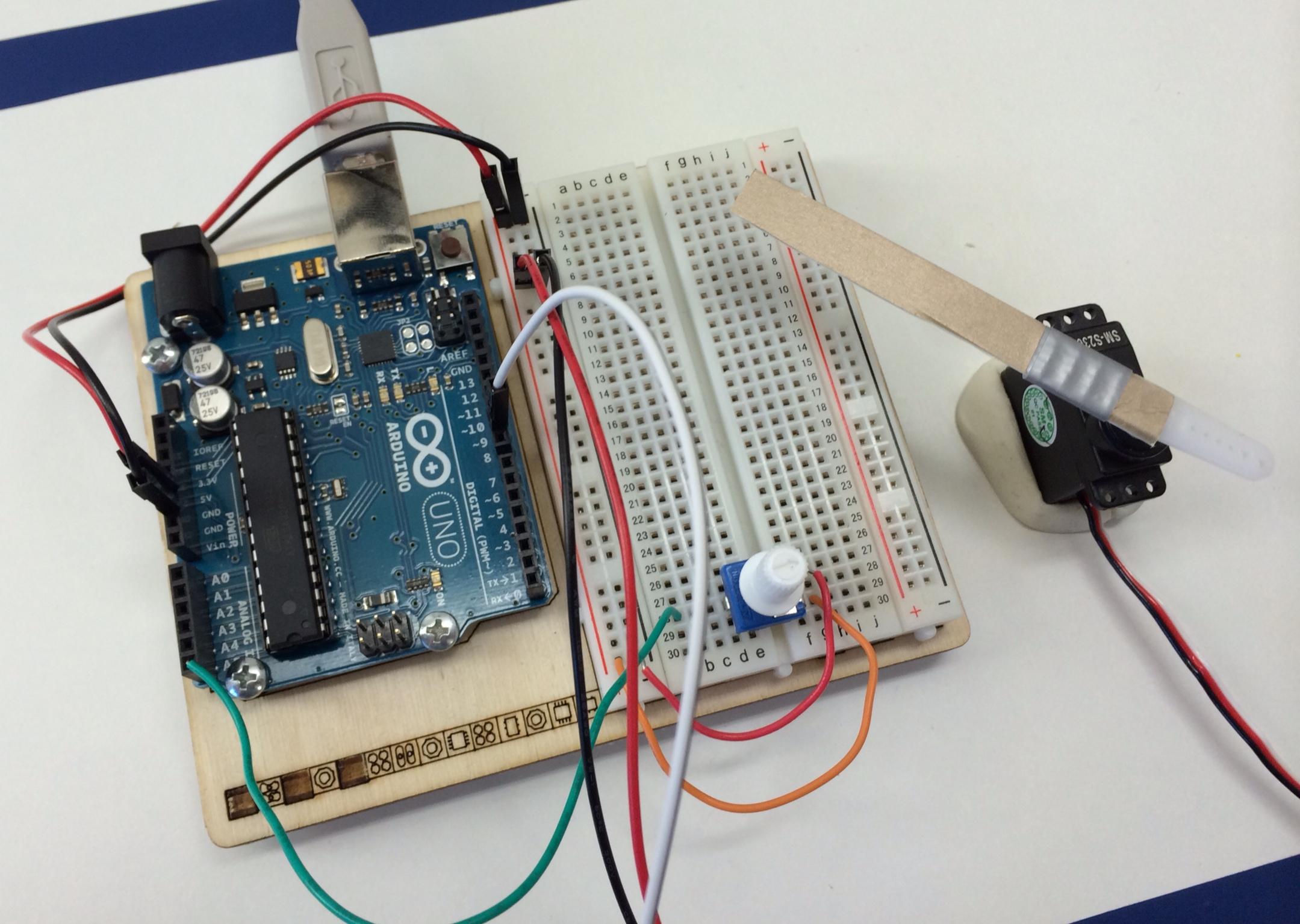Arduino projekt servo ansteuern maker at