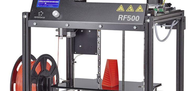 Renkforce RF500 – 3D Drucker Bausatz für Maker