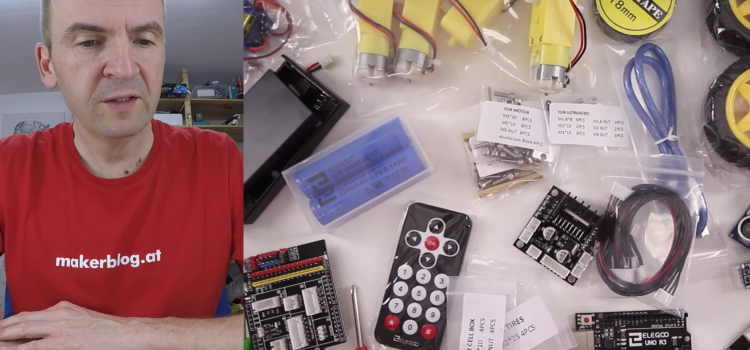 Elegoo Robot Car Kit 3.0 – Das Roboterauto zum Selberbauen