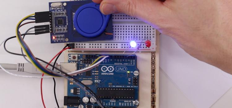 RFID Transponder am Arduino auslesen – MFRC-522 Card Reader
