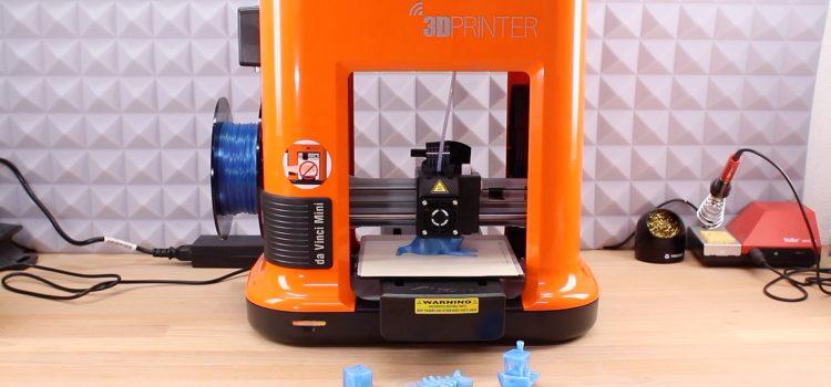 XYZprinting da Vinci Mini w – 3D Drucker für Einsteiger im Test