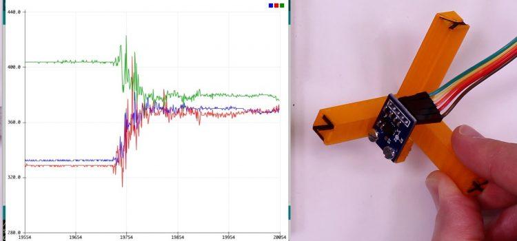 Beschleunigungssensor ADXL335 – ein Accelerometer am Arduino