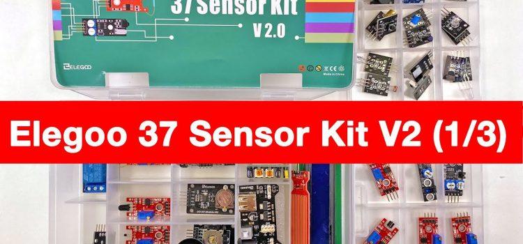 Elegoo 37 Sensor Kit V2.0 für Arduino