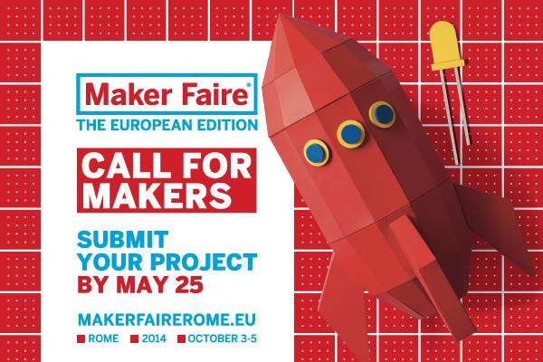 Maker Faire Rome 2014 – Erste Infos online