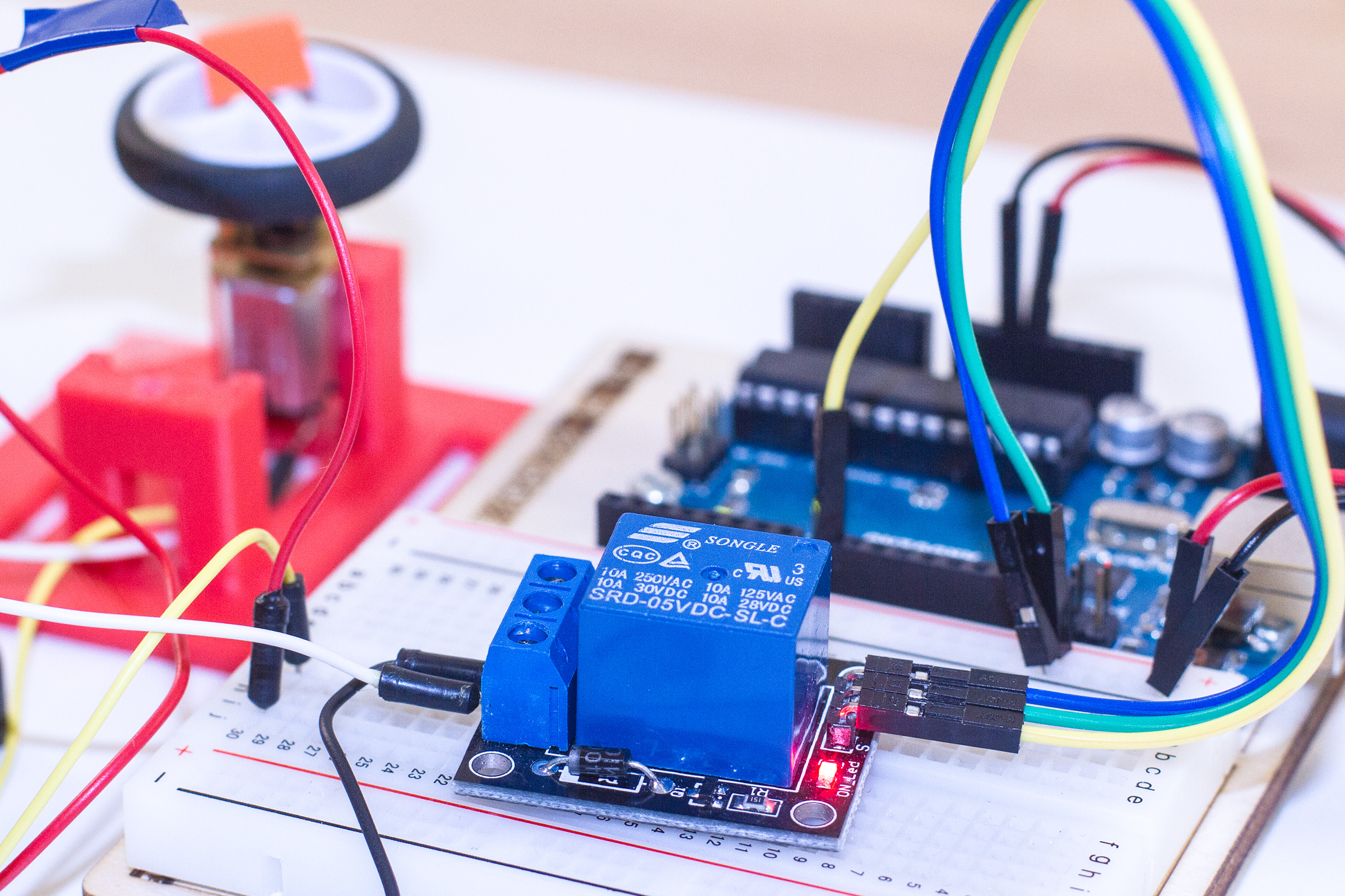 Arduino relais ansteuern maker at