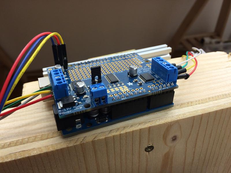 Vertikalplotter Im Selbstbau Teil 1 Hardware Und Arduino. Adafruit Motor Shield V2 Für Arduino Tutorial You